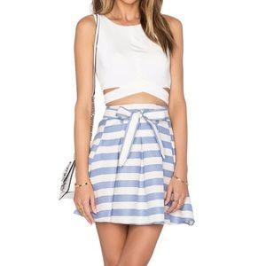Lovers + Friends Nautical Skirt